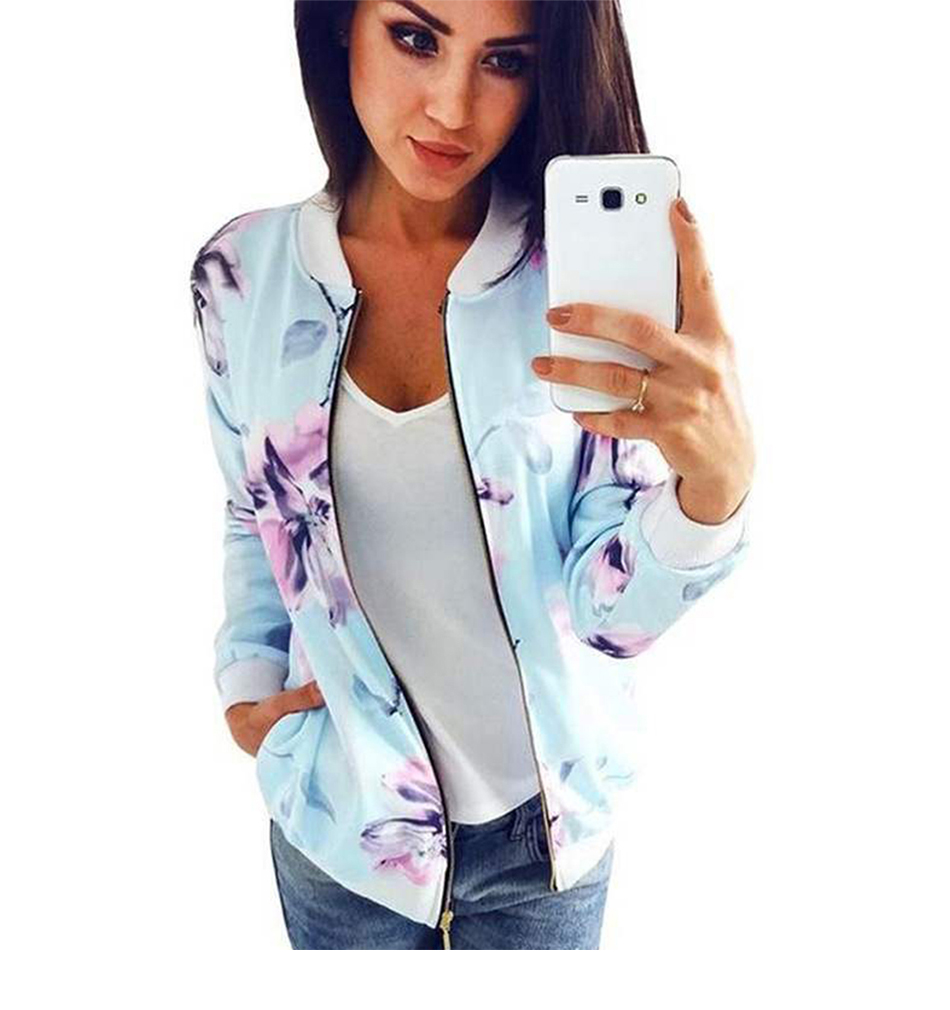 HTB1wPDiTgHqK1RjSZFEq6AGMXXaY Plus Size Printed Bomber Jacket Women Pockets Zipper Long Sleeve Coat Female Flower Chiffon White Jacket Woman Spring 2019