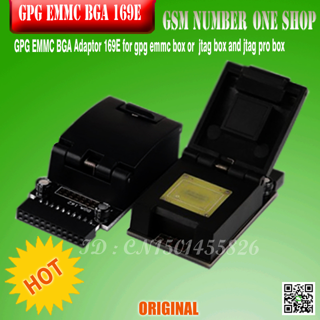 100% 2016 new version original GPG EMMC BGA Adaptor 169E  for  gpg emmc box or  jtag box