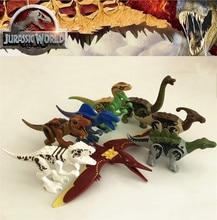 Совместимый Legoing Парк Юрского периода тираннозавр динозавры Рекс Велоцираптор Ridgeback Модель Строительный блок Набор 2018 горячая распродажа