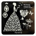 2016 Free Shipping Yo DIY Nail Art Image Stamp Stamping Plates Manicure Template  prego selo arte carimbar placas Anne