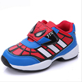 2017 new spring autumn brand children fashion casual shoes kids baby boys Spiderman school sneakers boy  sport running Shoes