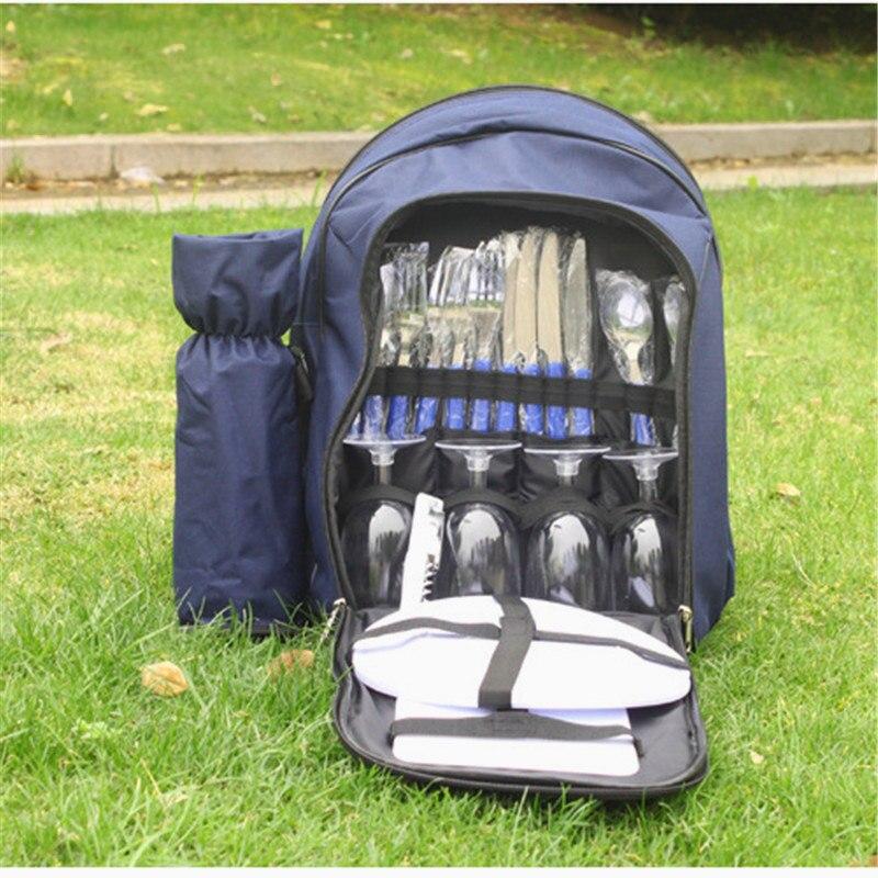 Picnic Set Bag Waterproof Portable Picnic Bag Outdoor Picnic Backpack Picnic Bag Outdoor Travel Set