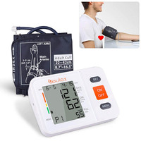 2018 Newly Upper Arm Digital Blood Pressure Monitor with WHO Indicator Large LCD Screen Health Machine Promotion Price
