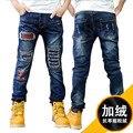 Брюки для мальчиков весна осень джинсы детские повседневные брюки 8 ребенок джинсы мужской большой мальчик брюки случайные брюки для 7-15 мальчики верхней одежды