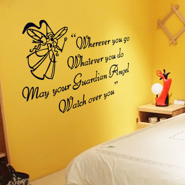 1 set 30*45 Inch Removable PVC Decals Inspirational Quotes Art ...