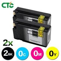 2 черные 950 XL 950XL чернильные картриджи Compitalbe для HP HP950 950XL Officejet Pro 8100 8600 251dw 276dw струйный принтер