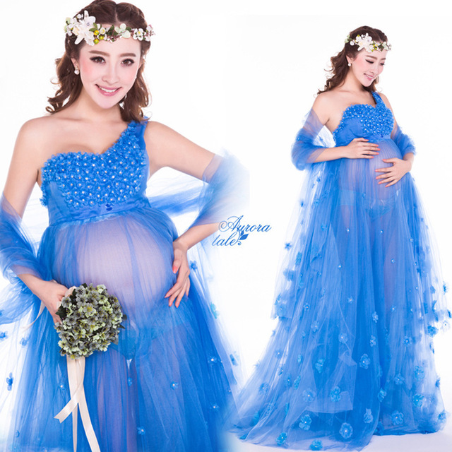 Sexy Maternity Dress Baby Shower