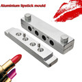 Wholeprice Aluminium Lipstick Mould 12.1mm 4 Cavities For Four Cavity DIY Lip Lip Rouge Mold Filling Durable in use