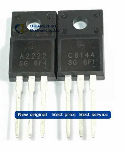 Gratis Pengiriman 20 Pcs/lot 2SA2222 2SC6144 10 Pcs A2222 + 10 Pcs C6144 IC Kualitas Terbaik.