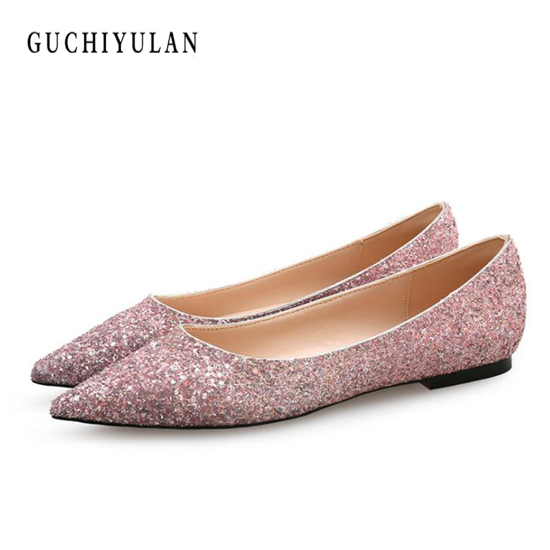 Spring Autumn Women Casual Shoes new style Sequins Creepers flat shoes ladies Comfortable Platforms slip on Sneakers Loafers spring and autumn new 2015 women shoes serpentine surface women flat slip on higher fashion bost shoes comfortable loafers