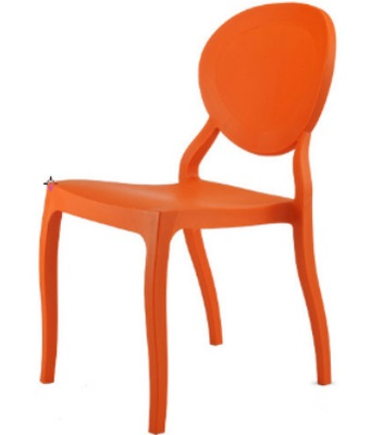 Office Chair Plastic Orange Color Stool Computer Chair Free Shipping In  Dining Chairs From Furniture On Aliexpress.com | Alibaba Group