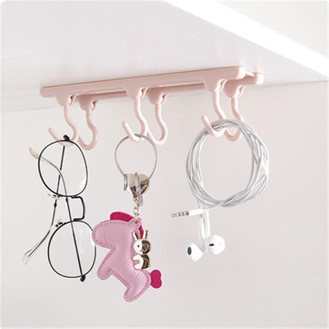 Cabinets Storage Racks 6 Hanging Kitchen  Gadgets