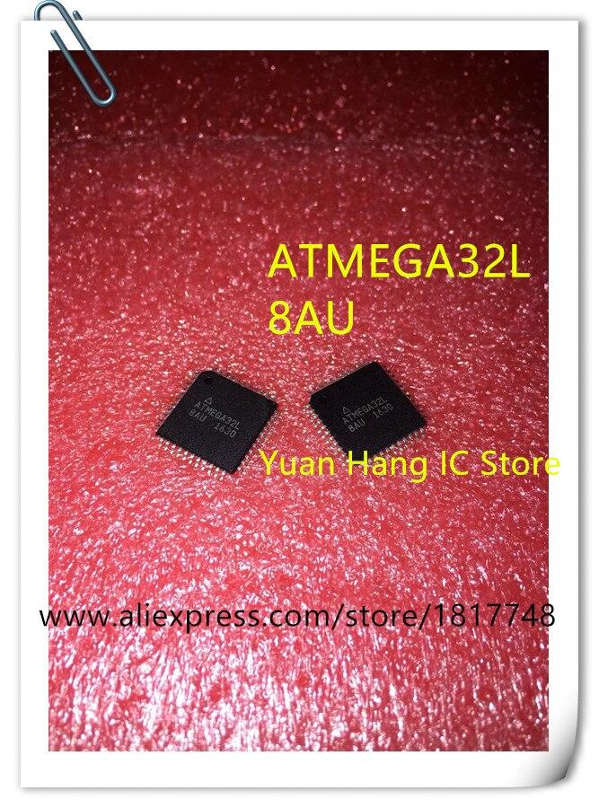 10PCS/LOT  ATMEGA32L-8AU ATMEGA32 ATMEGA32L 8AU QFP44 NEW