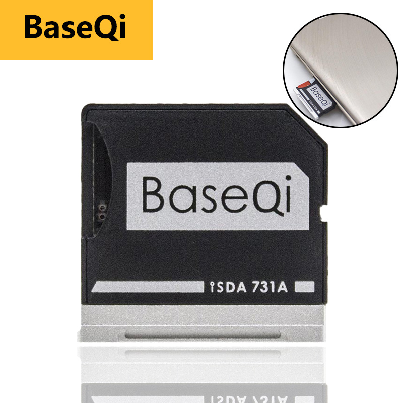 """BaseQi card reader Adapter For Dell XPS 13"""" mercedes benz adaptador ssd Mini Card Drive Adapter hard disk usb para movil-in Memory Card Adapters from Computer & Office"""