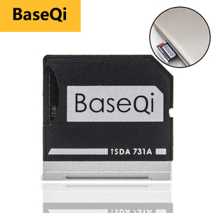 """Image 1 - BaseQi メモリースティック pro デュオアダプタデルの Xps 13 """"adaptador ssd カードリーダーミニカードドライブアダプタハードディスク usb パラモビル"""