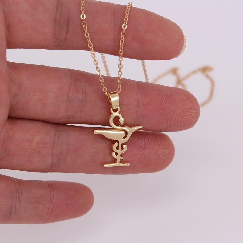 Hzew аптека знак кулон Ожерелья для мужчин ...