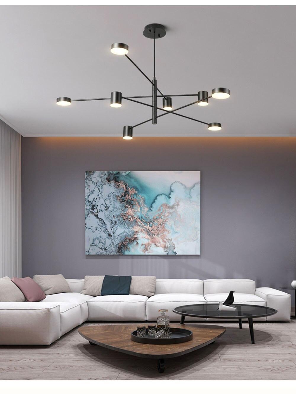 teto suspenso lustre lâmpada de luz para