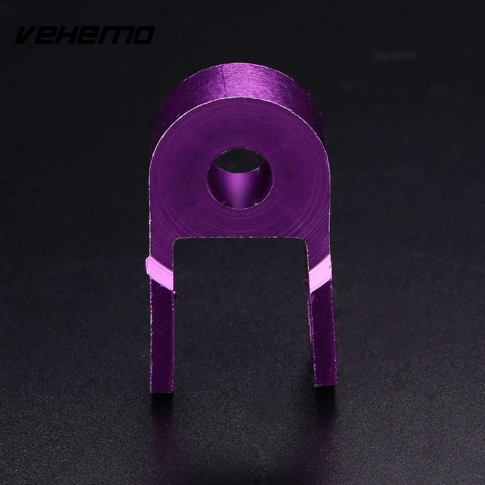 Motorcycle Motorbike Dirt Bike Shock Absorber Height Extender Jack Up Riser - Цвет: purple