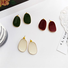 Personality earrings temperament geometry fair maiden style students daily wear Fashion exquisite