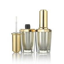 1pcs 10g acrylic bottle high-grade square nail polish Bright oil Sub-bottle Manicure tools wholesale BQ201