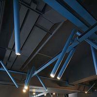 Modern Long Tube LED Track Light, New Space Design Cool Office Bar Track Lamp Restaurant Showroom Shop Display Down Spot Light