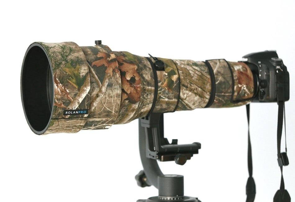 ROLANPRO Camera Lens Coat Camouflage for Nikon AF-S 400mm F2.8G ED VR Lens Protective Case Guns Clothing Common Clothing