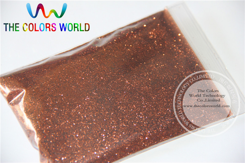 B0406 Shallow brown Color Glitter powder -0.2MM glitter dust dazzling glitter powder,DIY Flash powder