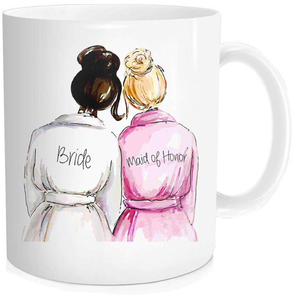 Sweet Bride And Maid Of Honor Coffee Mug Tea Cup Stylish