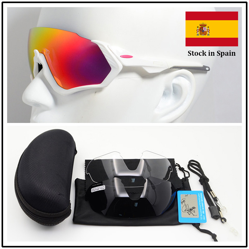 Ships From Spain 100th Anniversary Tour De France Cycling Glasses Polarized Cycling sport Sunglasses Bicycle Bike