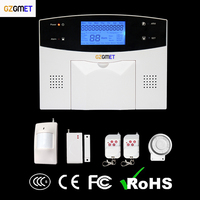2016 New Products CE 99 Wireless Zones GSM PSTN Phone App Alarm Panel Security System With