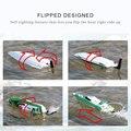 FT009 2.4G 30 km/h RC Racing Barco Con Refrigeración por Agua Sistema de Auto-corregir