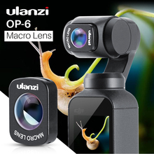Ulanzi OP 6 Obiettivo Macro per DJI Osmo Tasca, Professionale HD Struttura Magnetica Lente Osmo Tasca Accessori