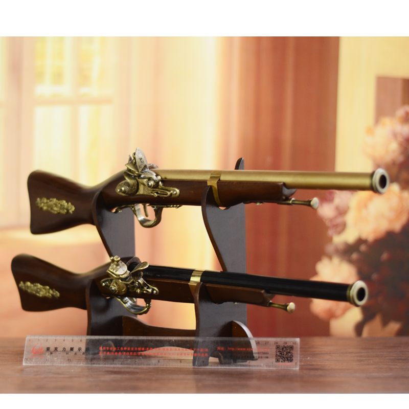Retro personality in the long gun Home Furnishing ornaments creative decorations boss office study crafts gifts