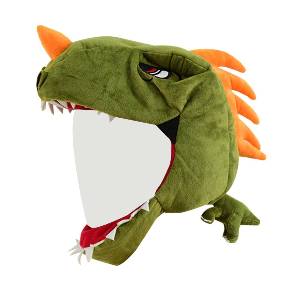 Rex Hat Cartoon Plush dinosaur Cosplay Hat Halloween Cosplay Props