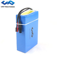 UPP Scooter battery 48V 10.4Ah E Bike Lithium Battery with LG Cell 48V Battery for 1000W 750W electric bike