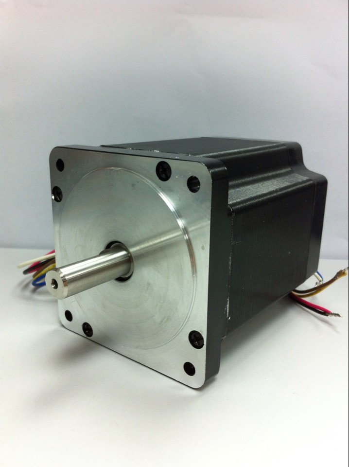 Leadshine 3-phase Stepper Motor 863S42 NEMA34 Series Step Angle 1.2 Degrees 5.0A 4.0N.M stepping motor drive leadshine am882 stepper drive stepping motor driver 80v 8 2a with sensorless detection