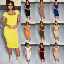 3ac544e0bff0 Women Summer 2019 Bandage Dress Women Sexy Short Sleeve Ruched Dress Slim Bodycon  Party Dresses Vestidos