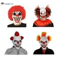 X-Frohe Spielzeug Freies Verschiffen Mascara Halloween Scary Latex Maske Film Vollen Kopf Horror Kostüm Maske Theater Prop