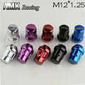 AMK racing-M12*1.25 Sport Car Wheel Lock Lug Nut With Adapter