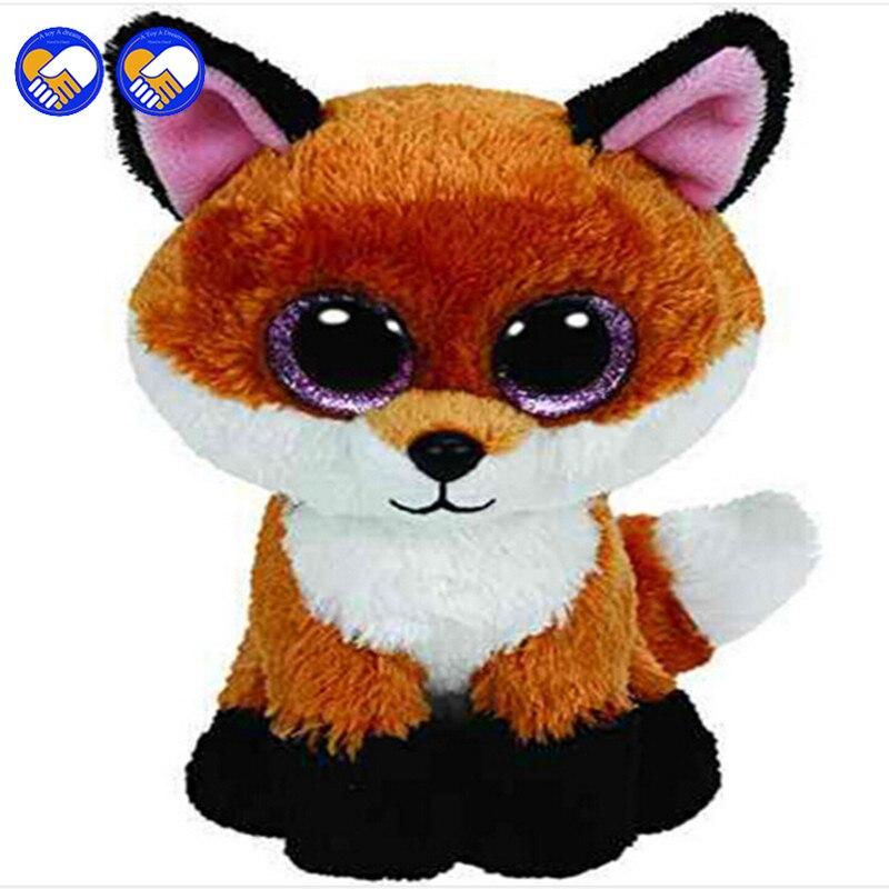 Игрушка мечта Ty Beanie Боос оригинальный большой Средства ухода для век плюшевые игрушки Kawaii куклы детского дня рождения Foxy мягкие Животные де...