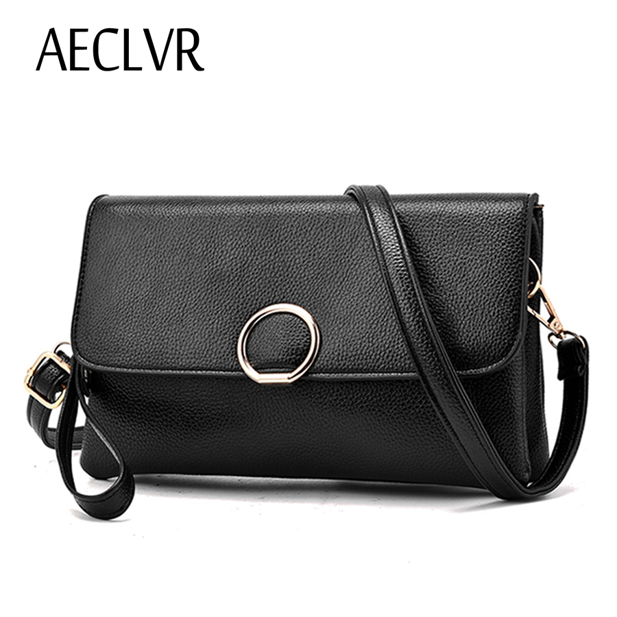 AECLVR Solid PU Baguette Casual Single Strap Women Crossbody Bag Versatile Ladies Shoulder Bag Shopping Purse Party Decor Bag