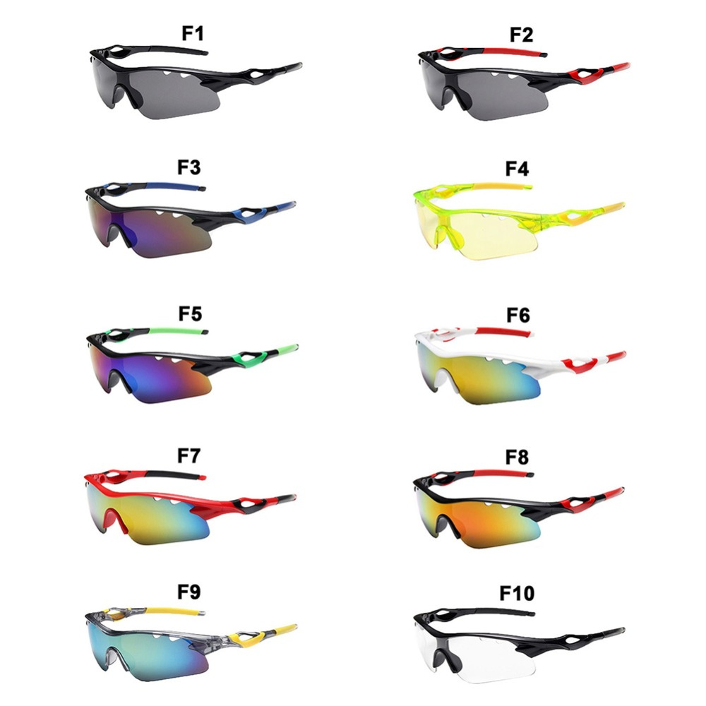 Cycling eyewear UV400 sunglasses Men Outdoor Sport UV Protection for Mountain road Bike Bicycle Fishing Glasses S083F in Cycling Eyewear from Sports Entertainment