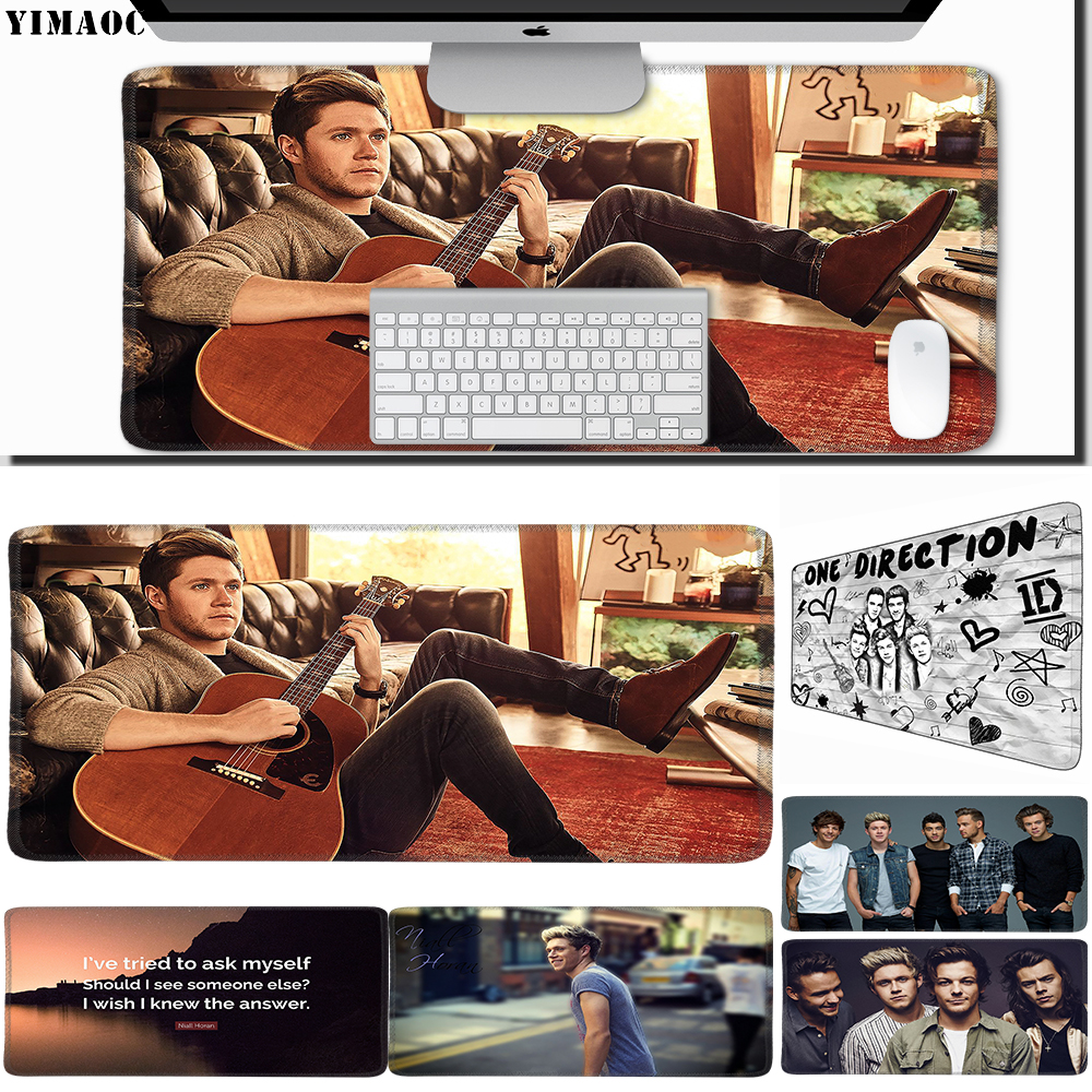 Motivated Yimaoc 30*60 Cm Large Mouse Pad Gamer Mousepad Rubber Gaming Desk Mat With Locking Edge Niall Horan One Direction 1d Top Watermelons Computer & Office Computer Peripherals