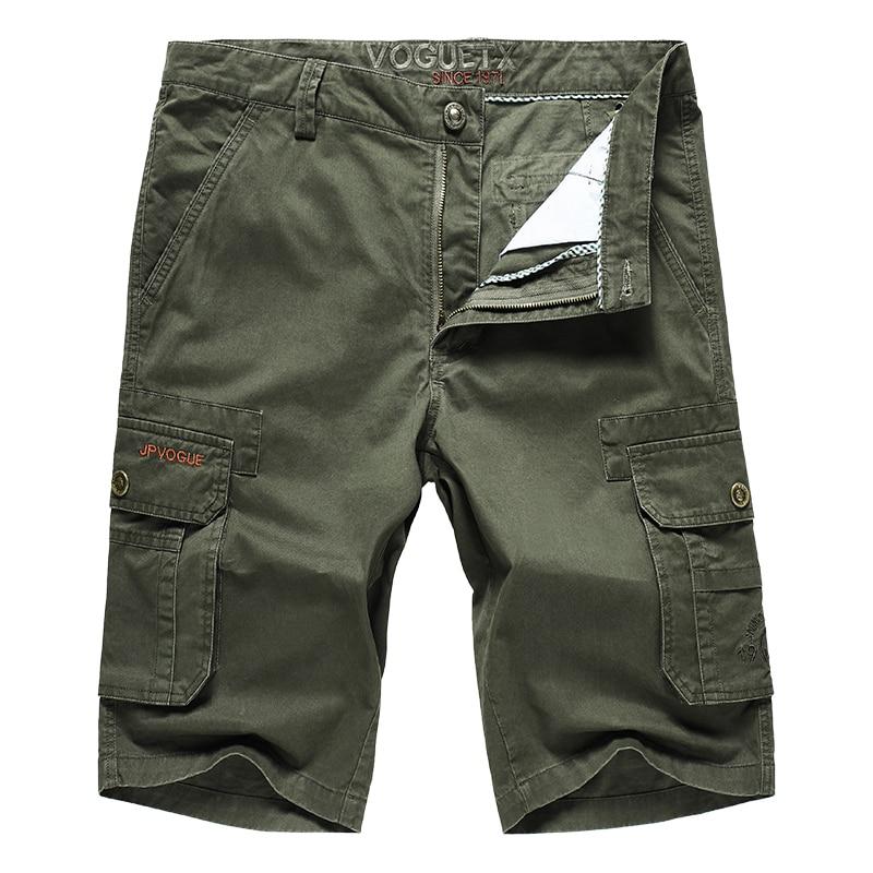 Pants Outdoor-Shorts Men 76-110cm Half-Trousers Cargo Waist-Anti-Wear Climbing-Tactics