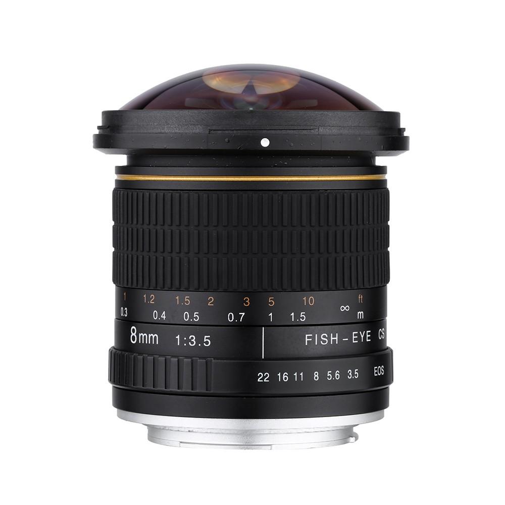 Jintu 8 мм широкоугольный объектив angel для canon ef mount