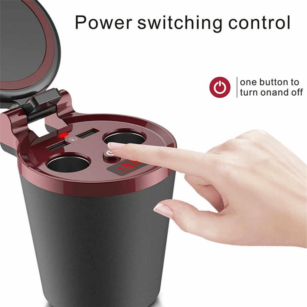 CARPRIE 2019 новое автомобильное зарядное устройство 3 в 1 Автомобильное Qi Беспроводное быстрое зарядное устройство держатель чашки Зажигалка для телефона/Pad/камеры/автомобильной камеры 80 Вт 904131