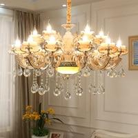 Modern Ceiling Chandeliers Crystal Candelabro Modern Gold Chandelier Light Art Deco Lighting Fixtures Chandelier for Dining Room