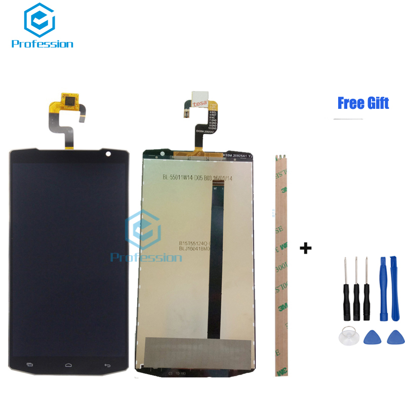 5 5inch For 100 Original Oukitel K10000 LCD Display and Touch Screen Screen Digitizer Assembly Replacement