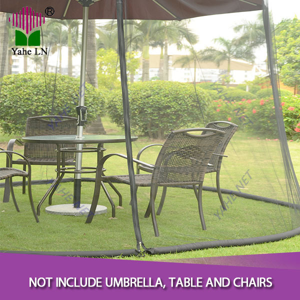 BUG SCREEN FOR OUTDOOR PATIO TABLE OVER THE UMBRELLA COVER NET NETTING  MOSQUITO 9 FOOT BLACK In Mosquito Net From Home U0026 Garden On Aliexpress.com  | Alibaba ...