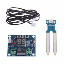 цена на 12V Soil Humidity Sensor Controller Irrigation System Automatic Watering Module